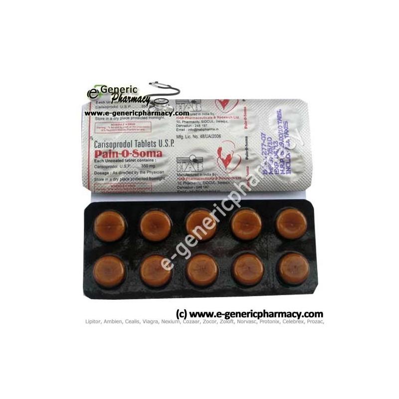 carisoprodol pills street value
