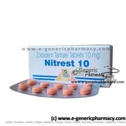 Ambien (Generic Zolpidem) 30ct NITREST