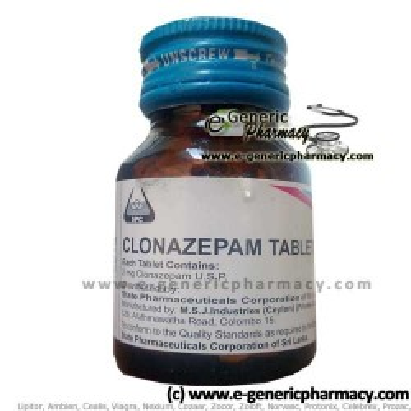 Clonazepam MSJ (Klonopin) 2mg 100ct