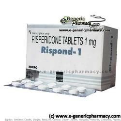 Risperidone RISDONE (Risperdal) 1mg/2mg/3mg/4mg 100ct