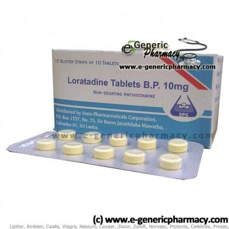 Loratadine Generic (Claritin) 10mg 100ct