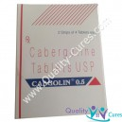 Cabergoline CABGOLIN (Dostinex) US$ 3.50 ea