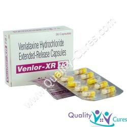Venlafaxine Extended Release VENLOR (Effexor) US $ 0.40 ea