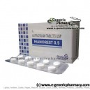 MINOREST (Alprazolam) 0.5mg Tablets 100ct